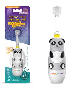 Детская электрическая зубная щетка Megaten Kids Sonic   Панда