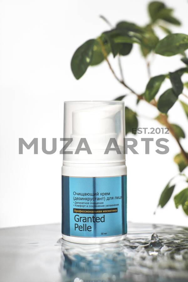 Очищающий крем (дезинкрустант) для лица GRANTED PELLE (50мл)